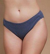 Cottonique Organic Cotton High Cut Panty - 2 Pack W22207